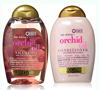 Organix Sulfate Free Fade-Defying + Orchid Oil Shampoo 13 Oz & Conditioner 13 Oz 'Set'