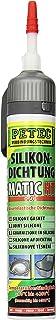 Petec 97820 Silikondichtung Matic HT, 200 ml, Rot