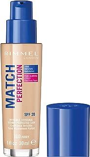 Rimmel London Match Perfection Liquid Foundation, Long-
