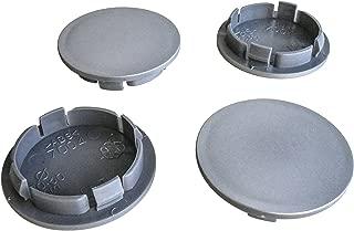 4x 69mm CARBONIO tappo centrale a cupola in resina HUB ADESIVI COPRICERCHI CAPS BADGE EMBLEMA