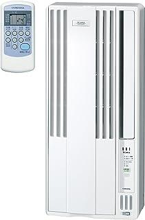 コロナ ウインドエアコン (冷房専用タイプ) 液晶リモコン付 マイナスイオン発生機能付 シェルホワイト CW-A1617(WS)