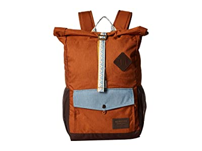 Burton Export Pack (Caramel Cafe Heather) Backpack Bags