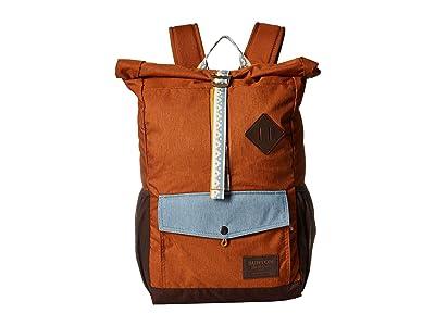 Burton Export Pack (Caramel Cafe Heather) Backpack Bags