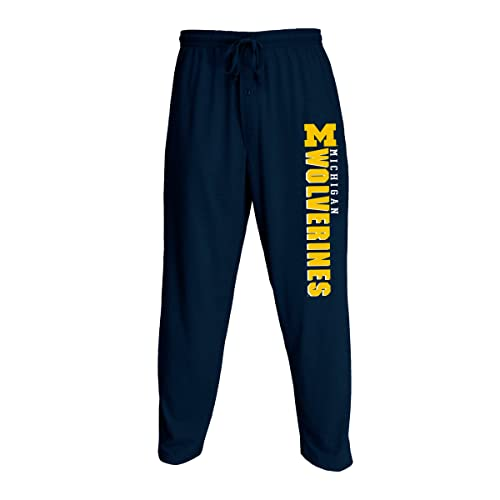 e56af18a4337 Concepts Sport Men s NCAA Knit Solid Pajama Pants with Team Name and Logo