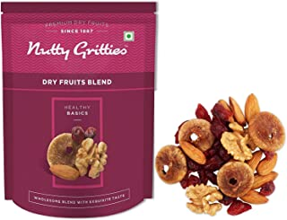 Nutty Gritties Dry Fruits Blend - California Almonds, Walnuts, Figs and Cranberries, 200g