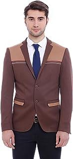 Wessi Men's Schlanke Passform Blazer Business Suit Jacket