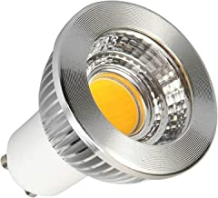 Led gloeilampen 4PCS 3W GU10 LED-spot Cob Gu10 Spotlight Dimbare CE ROHS Verlichtingsbollen (Color : 220-240V, Size : Cool...