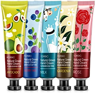 Men's and Women's Hand Cream for dry rough hands skin care for all skin type - Gift set - Pack of 5