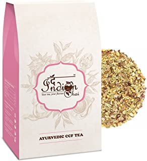 The Indian Chai - Ayurvedic Digestion (CCF) Tea Cumin, Coriander, Fennel Tea With Mint, Detox Tea (100g/3.53oz)