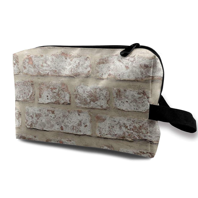 カスタム以降一緒にトラベルコスメティックバッグ 化粧品袋 トラベルコスメバッグ 収納袋 トラベルバッグ ウォッシュバッグ ペンケース 化粧ポーチ トラベル用化粧ポーチ 壁 ユニセックス 大容量 防水 多機能 ジッパー プリント