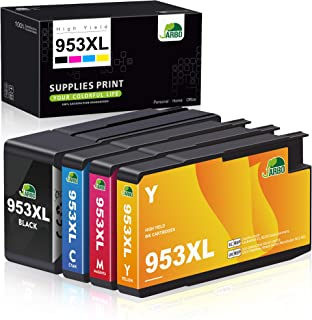 JARBO 953XL Cartuchos Reemplazo para HP 953 Cartuchos de tinta Compatible con HP Officejet Pro 8710 8720 7720 7740 8718 87...