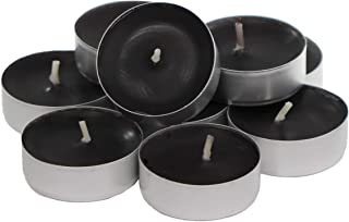 CandleNScent Scented Tea Lights Candles | Black Magic Fragrance | Made in USA (Pack of 30)