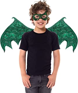 Little Adventures Reversible Dragon Mask and Wing Sets for Boys & Girls (Ages 3-8)