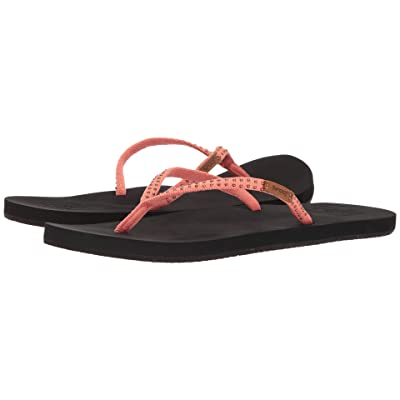 Reef Slim Ginger Stud (Coral) Women