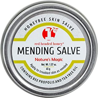 Red Headed Honey | Beeswax Propolis Mending & Healing Salve - Tea Tree & Vitamin E Oil - 1.57oz