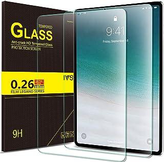 Luibor Apple iPad Pro 11 2018 Tablet Protector de pantalla de vidrio templado Ultra-thin 9H Dureza y la más alta calidad HD clear Protector de pantalla de vidrio para Apple iPad Pro 11 2018 Tableta (2 piezas)