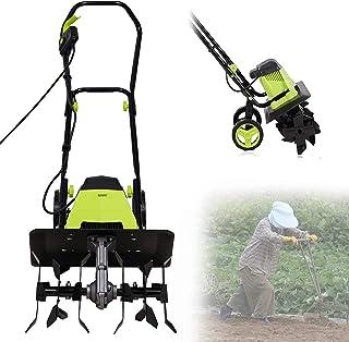 Sponsored Ad – Electric Tiller Cultivator Rotavator, 1500W Powerful Garden Soil Cultivator Rotavator with 6 Steel Blades, ...