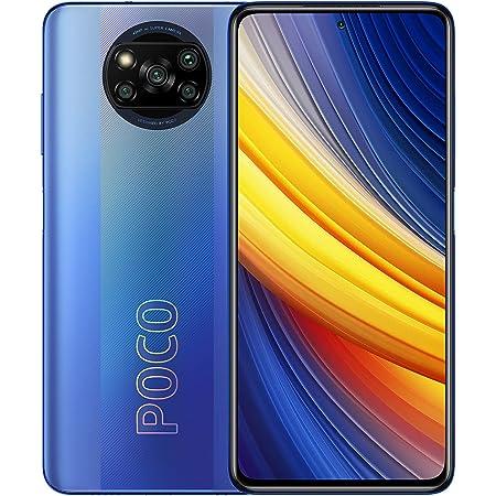 Xiaomi Poco X3 Pro グローバル版 SIMフリー (8GB+256GB) 6.67 inch/Dual SIM / 48+8+2+2MP Quad Camera / 20 MP Selfie Camera / 120Hz / Google play/日本語対応 / 5160 mAh (Frost Blue/フォレストブルー)