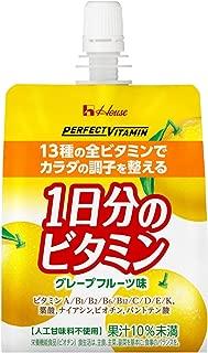 PERFECT VITAMIN 1日分のビタミンゼリー グレープフルーツ味 180g×24袋 ハウスウェルネスフーズ
