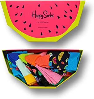 Happy Socks Kids Fruits Gift Box Calcetines (Pack de 5) para Bebés