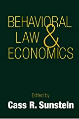 Behavioral Law and Economics (Cambridge Series on Judgment and Decision Making) (English Edition) eBook Kindle