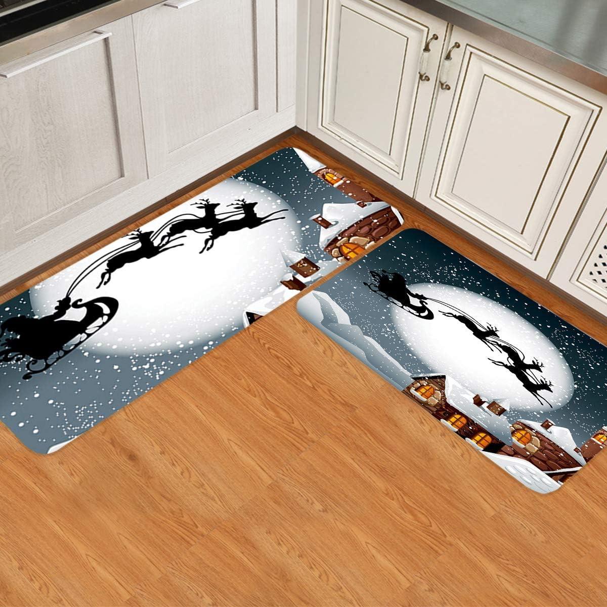 Max 42% OFF Prime Leader 2 Piece Non-Slip Kitchen trust Rug Set Doormat Runner Mat