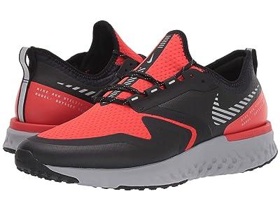 Nike Odyssey React 2 Shield (Habanero Red/Metallic Silver/Black) Men