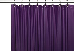 Best solid purple shower curtain Reviews