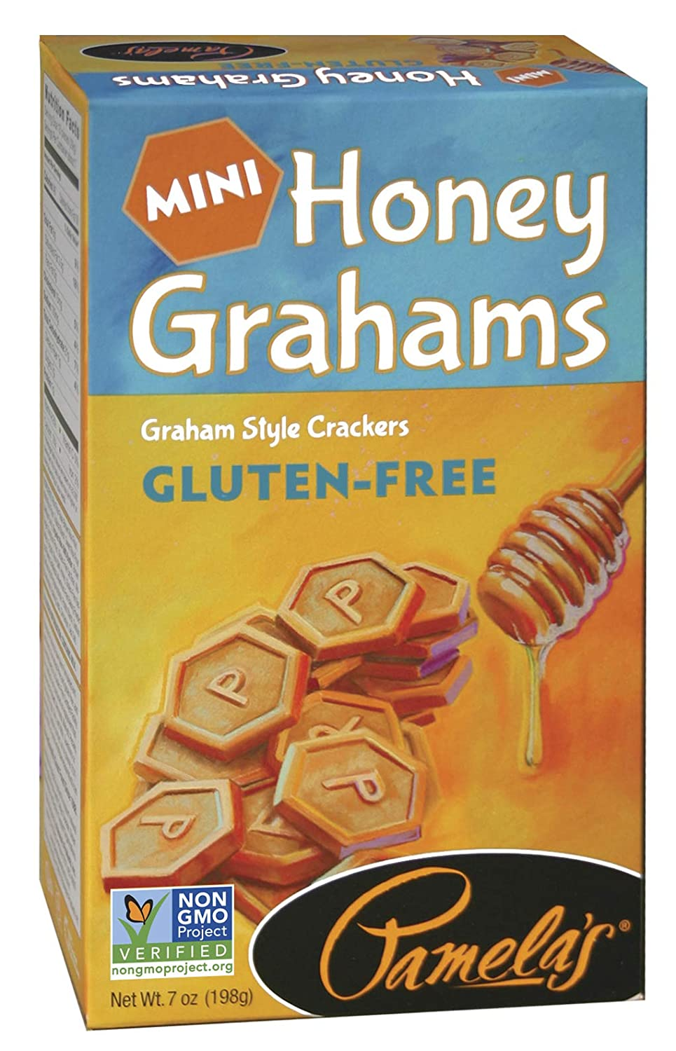 Pamela's Products Gluten Free Graham Minis 7oz Price reduction Crackers Outstanding Honey