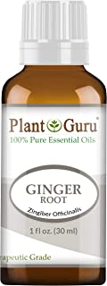 Fresh Ginger (Root) Essential Oil 1 oz / 30 ml 100% Pure Undiluted Therapeutic Grade for Skin, Body and Hair Growth. Perfe...