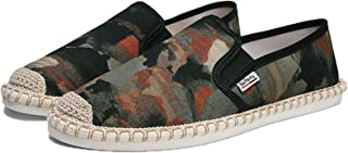 Hommes Espadrilles Mode Camouflage Slip-on Low-Top Casual Mocassins Confort Durable Respirant Chaussures en Toile Plate