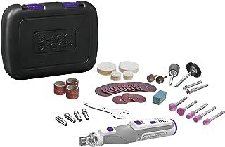 BLACK+DECKER BCRT8IPETK-XJ multifunctionele draaifunctie, 7,2 V, 1,5 Ah, 37 3 accessoires voor huisdieren in koffer, 7,2 V