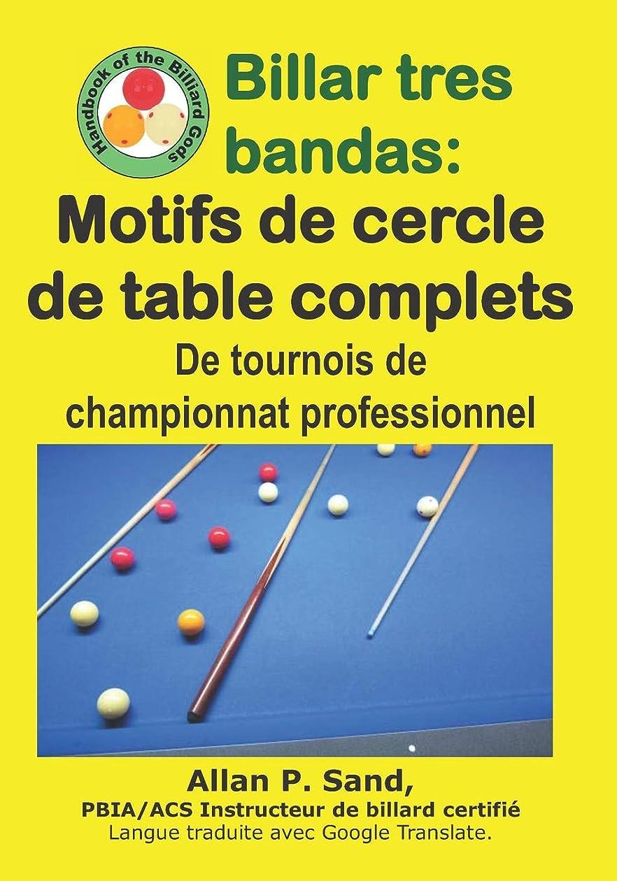 ディスカウント不均一格差Billar tres bandas - Motifs de cercle de table complets: De tournois de championnat professionnel
