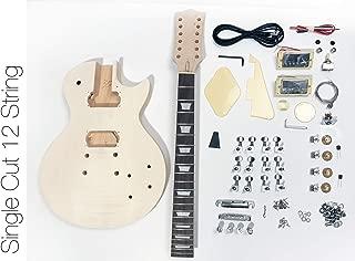 DIY Electric Guitar Kit - Singlecut 12 String Style Build Your Own Guitar Kit