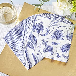 Kate Aspen Blue Willow 2 Ply (Set of 30) Paper Napkins, One Size