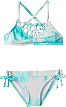 Billabong Kids - Peace 4 U Cross-Back Swim Set (Little Kids/Big Kids)