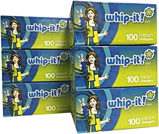 Whip-it! Whipped Cream Chargers (100 Pack) (Case of 600), White