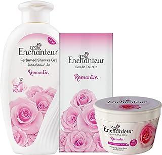 Enchanteur Assorted Pack (250Ml Shower Gel+200Ml Cream+100Ml EDT) (Romantic)