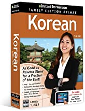 Instant Immersion Korean, Level 1, 2 & 3: Family Edition (English and Korean Edition)