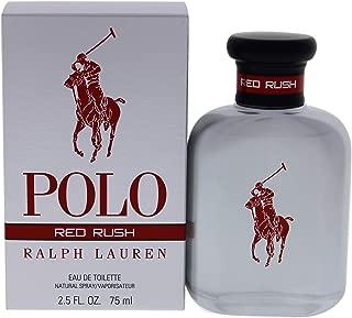 Ralph Lauren Polo Red Rush By Ralph Lauren for Men 2.5 Oz Eau De Toilette Spray, 2.5 Ounce