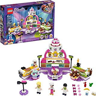 LEGO Friends Baking Competition 41393 Building Kit, LEGO Set Baking Toy, Featuring 3 LEGO Friends Characters and Toy Cakes...