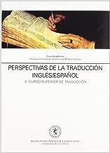 Perspectivas de la traducción inglés-español : 3 curso superior de traducción