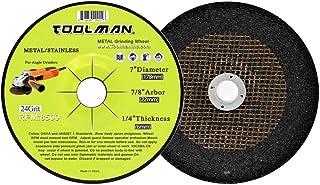 Toolman Premium Cut Off Cutting Wheel Universal fit 5pcs 24 Grit 5400 rpm 14 x 1 x 1//8 for metal and stainless steel works with DeWalt Makita Ryobi