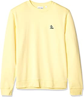 Lacoste Men's Long Sleeve French Terry Embroidered...