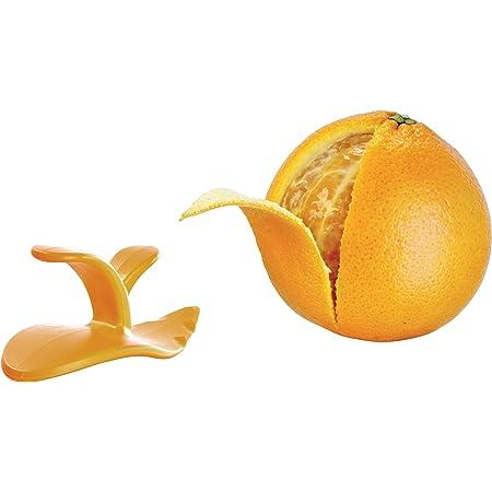 【正規輸入品】vacu vin シトラスピーラー オレンジ (TOMORROW'S KiTCHEN)