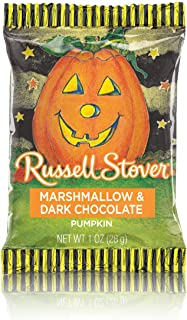 Russell Stover Dark Chocolate Marshmallow Pumpkins, 1 oz. Bar