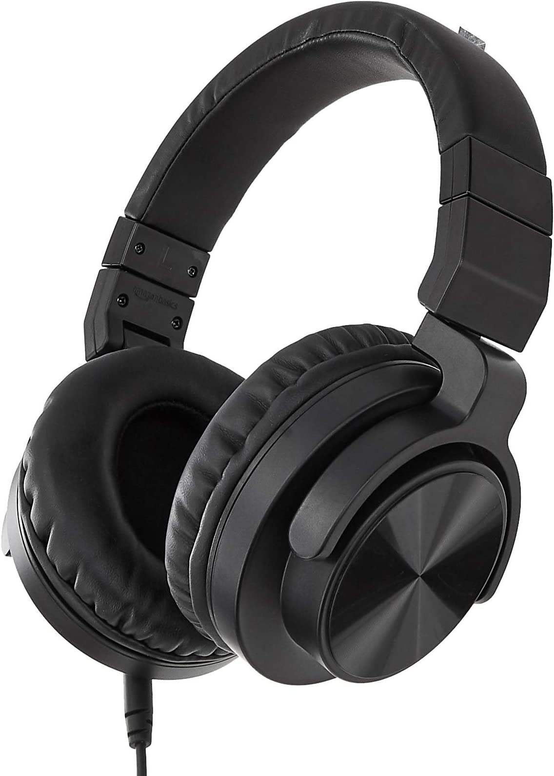Amazon Basics Over-Ear Studio Monitor Headphones - Black