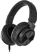 AmazonBasics Over-Ear Studio Monitor Headphones - Black