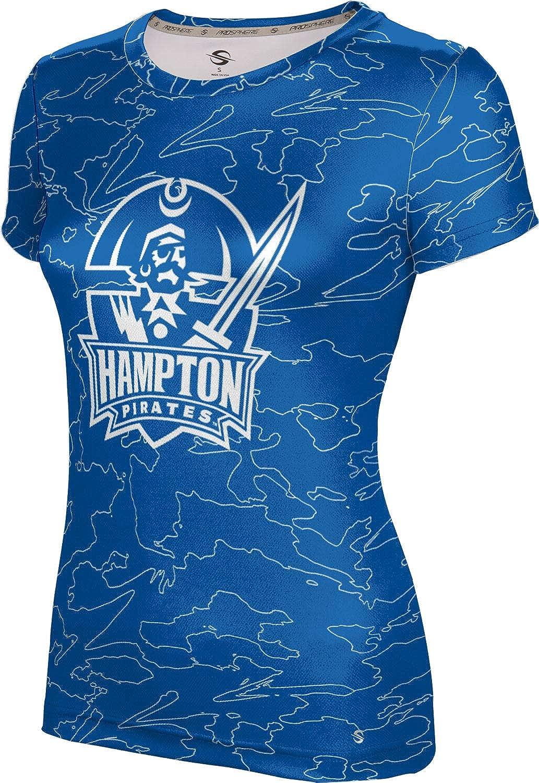 ProSphere Hampton University Girls' Performance T-Shirt (Topography)