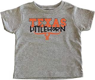 TeeNow - Texas Littlehorn - Texas Longhorns Kids/Toddler T-Shirt